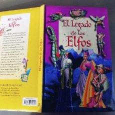 Libros: EL LEGADO DE LOS ELFOS,LIBSA,TAPA DURA,AÑO 2005,. Lote 240275315
