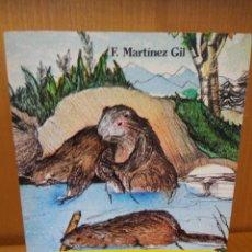Livres: EL RÍO DE LOS CASTORES. F. MARTÍNEZ GIL. NOGUER. Lote 240405615