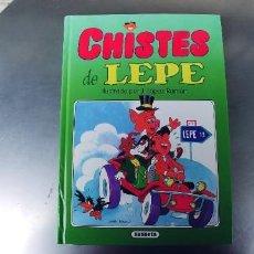 Libros: CHISTES DE LEPE. SUSAETA. ILUSTRADOR J. LÓPEZ RAMÓN. AÑO 1993. PESO 650 GR. CARTONÉ. PÁGINAS 121. Lote 240512060
