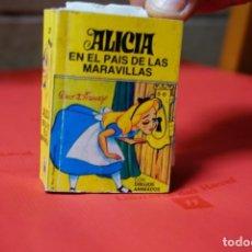 Libros: WALT DISNEY.ALICIA EN EL PAIS DE LAS MARAVILLAS.CON DIBUJOS ANIMADOS. Lote 240648820