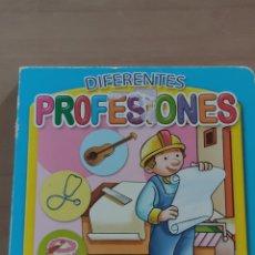 Libros: DIFERENTES PROFESIONES, DIVIERTETE CON PICTOGRAMAS. Lote 241451210