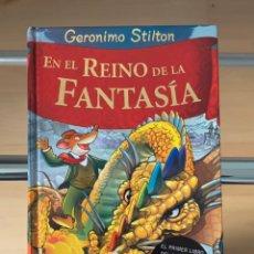 Libros: GERONIMO STILTON. EN EL REINO DE LA FANTASÍA. Lote 243595790