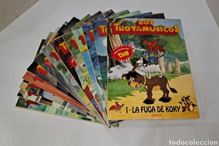 LOS TROTAMÚSICOS. ANAYA. LOTE DE 13 CUENTOS. NUEVOS. SIN LEER. 1989. 1-2-3-4-5-6-7-8-18-19-21-22-23. (Libros Nuevos - Literatura Infantil y Juvenil - Literatura Infantil)