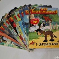 Libros: LOS TROTAMÚSICOS. ANAYA. LOTE DE 13 CUENTOS. NUEVOS. SIN LEER. 1989. 1-2-3-4-5-6-7-8-18-19-21-22-23.. Lote 244692150