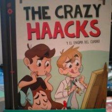 Livres: THE CRAZY HAACKS Y EL ENIGMA DEL CUADRO.(4). MONTENA. Lote 248360045