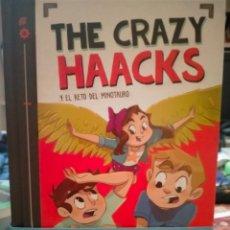 Livres: THE CRAZY HAACKS Y EL RETO DEL MINOTAURO.(6). MONTENA. Lote 248361090