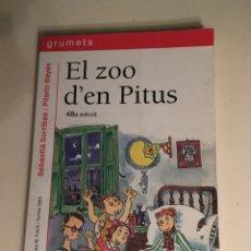 Libros: LIBRO EL ZOO D'EN PITUS. Lote 255633880