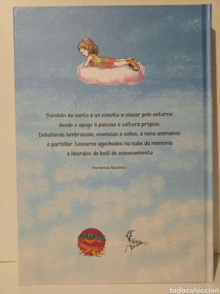 Libros: Bambán de vento. Hortensia Bautista. Aurora Quintero. Cuento gallego. Cómic lingua Galega - Foto 2 - 260077380