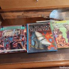 Libros: 3 LIBROS INFANTILES EDUCATIVOS. Lote 262164390