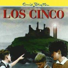 Libros: LOS CINCO. ENID BLYNTON. Lote 262462615