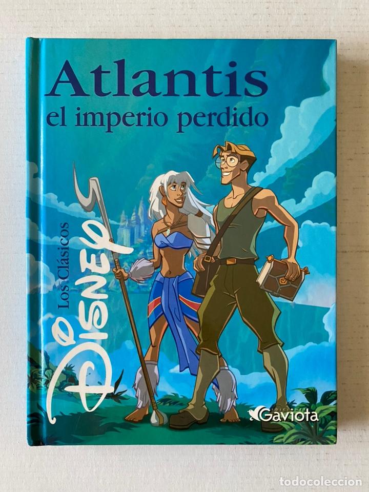 ATLANTIS EL IMPERIO PERDIDO CLÁSICOS DISNEY- PERFECTO - (Libros Nuevos - Literatura Infantil y Juvenil - Literatura Infantil)