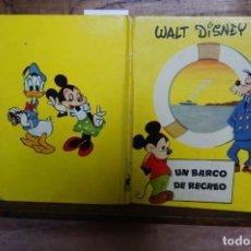Libros: DISNEY WALT. UN BARCO DE RECREO.. Lote 263289495