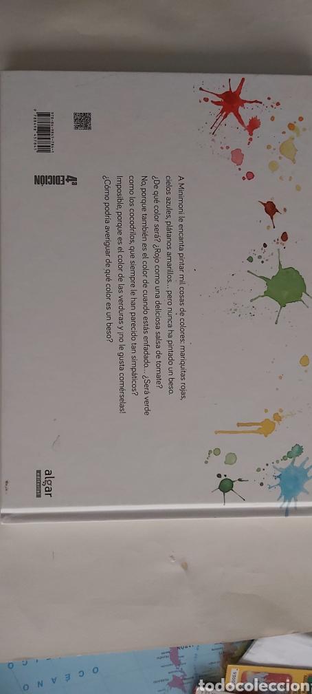 Libros: ¿ DE QUÉ COLOR ES UN BESO ? Rocio Bonilla editorial algar - Foto 2 - 264444624