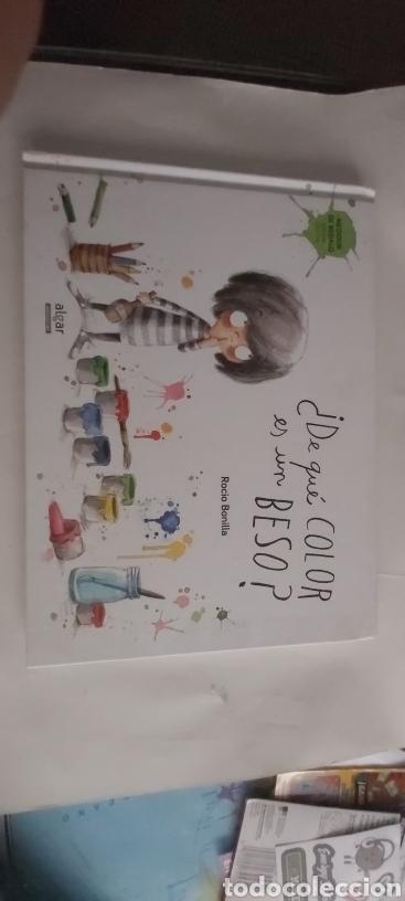 ¿ DE QUÉ COLOR ES UN BESO ? ROCIO BONILLA EDITORIAL ALGAR (Libros Nuevos - Literatura Infantil y Juvenil - Literatura Infantil)