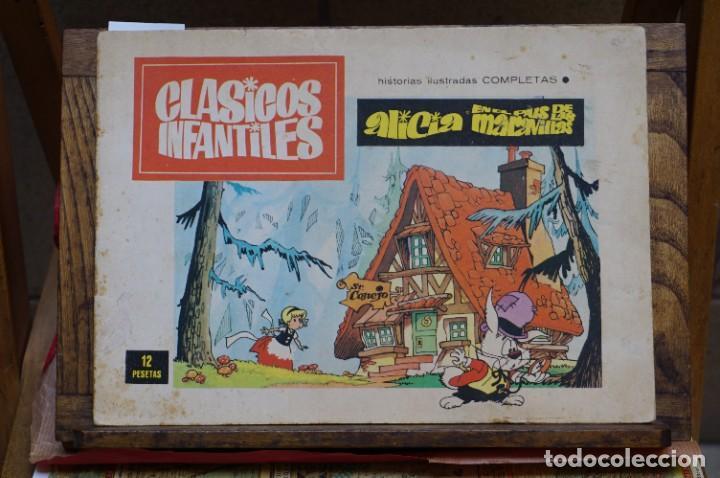 ALICIA EN EL PAIS DE LAS MARAVILLAS.CLASICOS INFANTILES.HIST. IL. COMPLETAS. (Libros Nuevos - Literatura Infantil y Juvenil - Literatura Infantil)