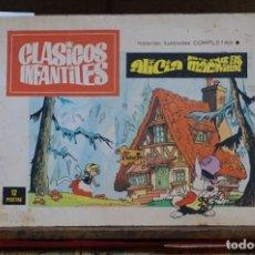 Libros: ALICIA EN EL PAIS DE LAS MARAVILLAS.CLASICOS INFANTILES.HIST. IL. COMPLETAS.. Lote 266899419