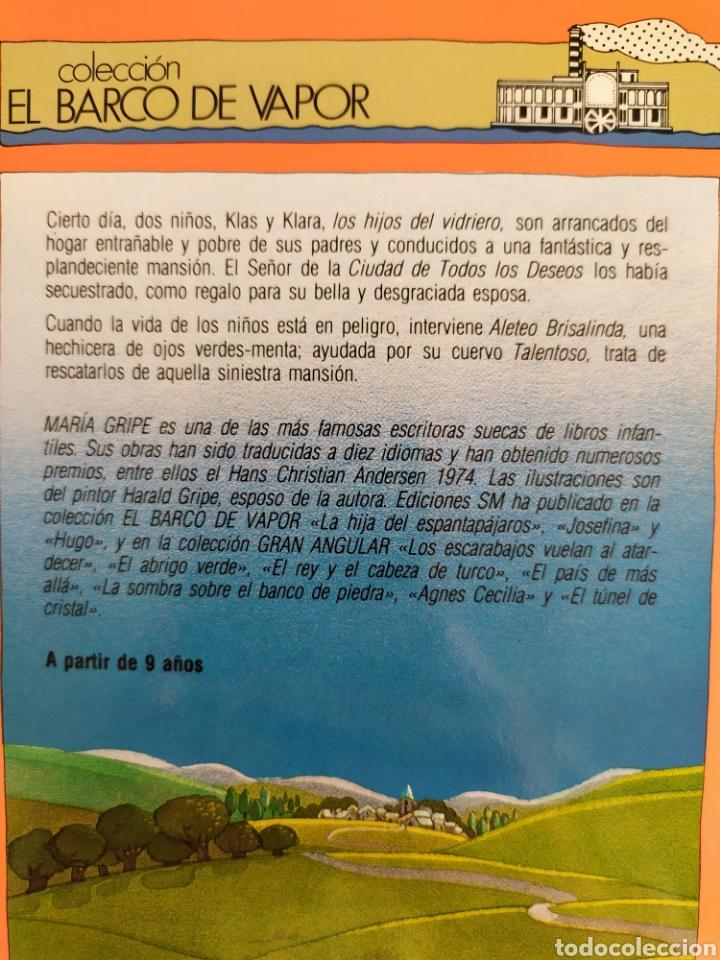 Libros: Los Hijos del Vidriero El Barco de Vapor - Foto 3 - 267523429