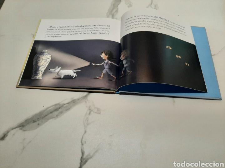 Libros: Los atrevidos y el misterio del dinosaurio - Foto 3 - 268156544