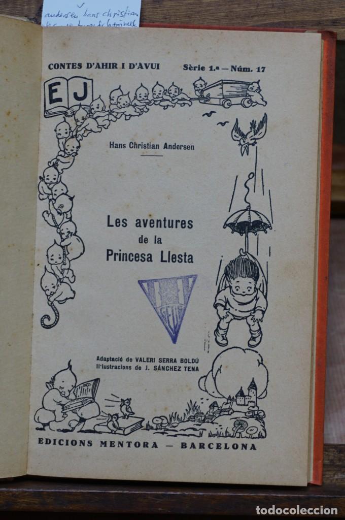 ANDERSEN HANS CHRISTIAN. LES AVENTURES DE LA PRINCESA LLESTA I ALTRES CONTES. (Libros Nuevos - Literatura Infantil y Juvenil - Literatura Infantil)