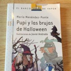 """Libros: """"PUPI Y LAS BRUJAS DE HALLOWEEN"""". Lote 269479848"""
