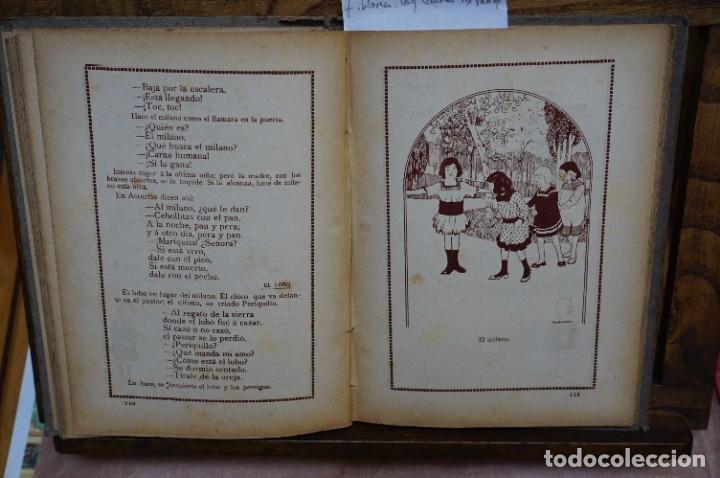 Libros: llorca fernando. Lo que cantan los niños.canciones de cuna,corro,coplillas,relaciones,juegos y ... - Foto 2 - 269774243