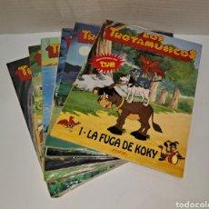 Livros: LOS TROTAMÚSICOS. ANAYA. LOTE DE 6 CUENTOS. NUEVOS. SIN LEER. PRECINTADOS. 1989. 1-2-3-4-5-8.. Lote 270141573