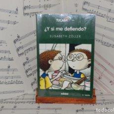 Libros: ¿Y SI ME DEFIENDO?. ELISABETH ZÖLLER. Lote 275027288