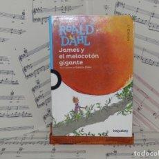 Libros: JAMES Y EL MELOCOTON GIGANTE. ROALD DAHL. Lote 275027478