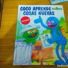 Libros: BARRIO SESAMO - COCO APRENDE COSAS NUEVAS. Lote 276198303
