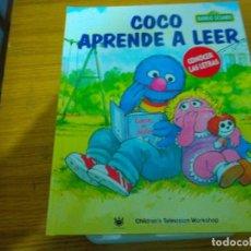 Libros: BARRIO SESAMO - COCO APRENDE A LEER. Lote 276198398