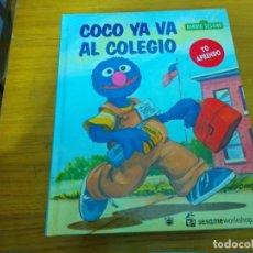 Libros: BARRIO SESAMO - COCO VA AL COLEGIO. Lote 276198498