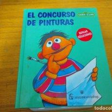 Libros: BARRIO SESAMO - EL CONCURSO DE PINTURAS. Lote 276198618