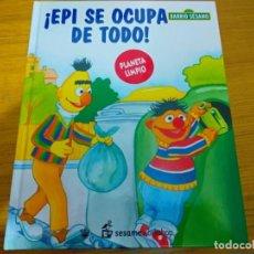 Libros: BARRIO SESAMO - EPI SE OCUPA DE TODO. Lote 276198683