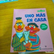 Libros: BARRIO SESAMO - UNO MAS EN CASA. Lote 276199728