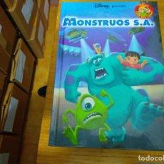 Libros: DISNEY - MOSTRUOS SA. Lote 276201668
