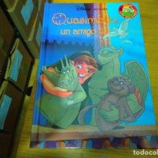 Libros: DISNEY - QUASIMODO UN AMIGO FIEL. Lote 276202198