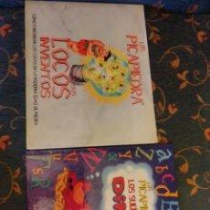 Libros: LOS PICAPIEDRA Y SUS LOCOS INVENTOS, LOS SUEÑOS DE DINO. Lote 277287938