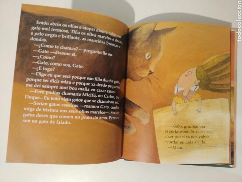 Libros: A Festa no faiado. María Victoria Moreno. Irene Fra. Arbore galaxia. En gallego - Foto 3 - 277447778