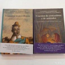 Libros: CUENTOS AL AMOR DE LA LUMBRE, DE ANTONIO R. ALMODÓVAR.. Lote 280128163