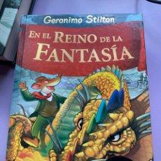 Libros: GERONIMO STILTON EN EL REINO DE LA FANTASIA. Lote 287933753
