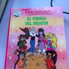 Libros: TEA STILTON EL CÓDIGO DEL DRAGÓN. Lote 287934008