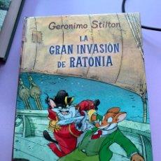 Libros: GERONIMO STILTON EN LA GRAN INVASION DE RATONIA. Lote 287934198