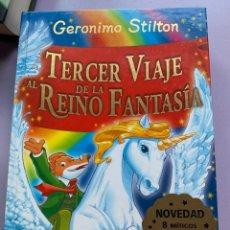 Libros: GERONIMO STILTON EN TERCER VIAJE AL REINO DE LA FANTASÍA. Lote 287934388