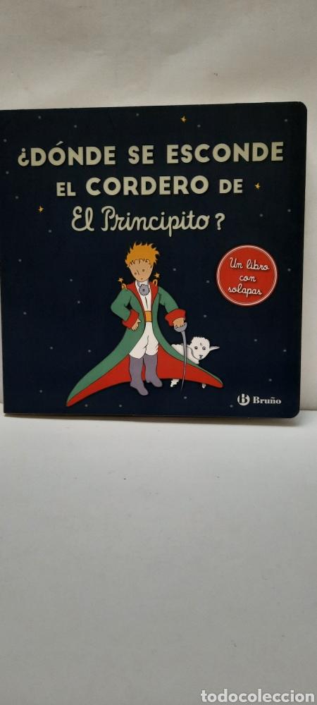 DÓNDE SE ESCONDE EL CORDERO DEL PRINCIPITO (Libros Nuevos - Literatura Infantil y Juvenil - Literatura Infantil)
