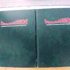 Libros: DINOSAURIOS. DESCUBRE LOS GIGANTES DEL MUNDO PREHISTORICO,TOMOS 4 Y 5,TAPA DURA,AÑO 1993,PLANETA AGO. Lote 288708878