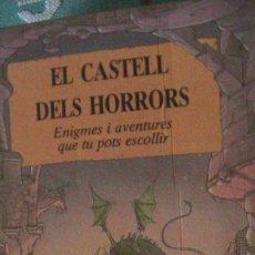 Libri: EL CASTELL DELS HORRORS.PATRICK BURSTON .ALASTAIR GRAHAM. EDICIONES B, 1988. Lote 289222553
