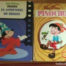 Libros: EL APRENDIZ DE BRUJO Y PINOCHO. Lote 291940068