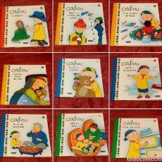 Libros: CAILLOU Y SUS AVENTURAS. Lote 292284318
