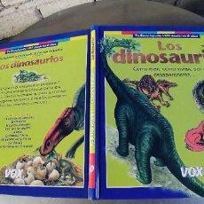 Libros: LOS DINOSAURIOS,COMO ERAN,COMO VIVIAN,POR QUE DESAPARECIERON,TAPA DURA,77 PAGINAS,AÑO 2003,. Lote 292614558
