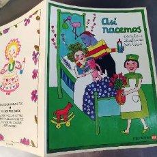 Libros: ASI NACEMOS,PUBLICACIONES FHER,AÑO 1987,TAPA FINA,. Lote 292617183